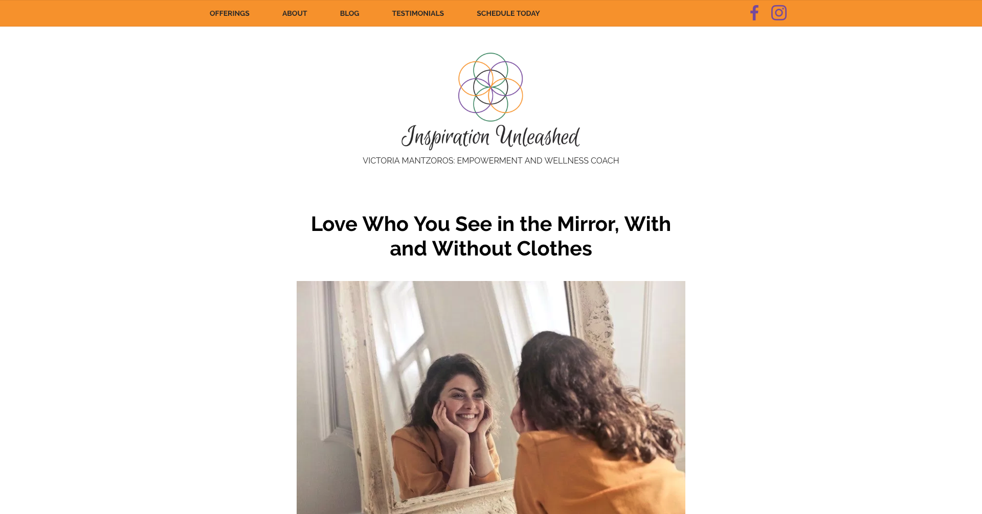 Inspiration Unleashed Coaching home page